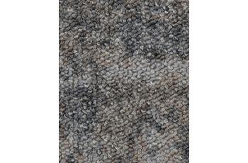 Hometrend Teppichboden Schlinge bedruckt grau/ natur
