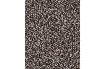 Hometrend Teppichboden Schlinge graubraun