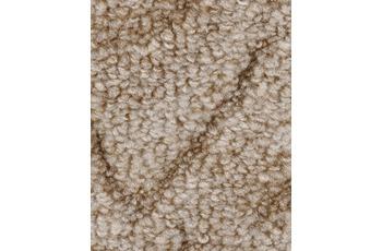 Hometrend Teppichboden Schlinge Hoch-Tief beige/ natur