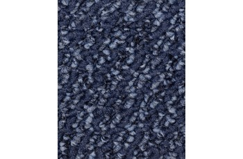 Hometrend Teppichboden Schlinge meliert blau