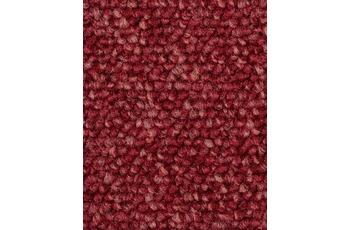 Hometrend Teppichboden Schlinge meliert rot