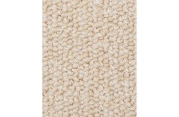 Hometrend Teppichboden Schlinge meliert weiss