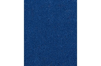 Hometrend Teppichboden Uni-Velours blau