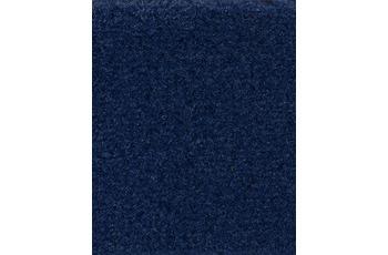 Hometrend Teppichboden Uni-Velours dunkelblau