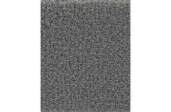 Hometrend Teppichboden Uni-Velours dunkelgrau