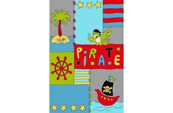 Keen Joy Kinderteppich Pino Pirat gelb