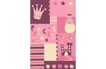 Keen Joy Kinderteppich Pino Schlo� rosa
