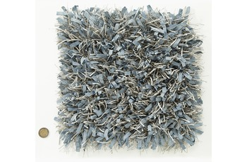 Kelii Hochflor-Teppich Blanche 33 blau