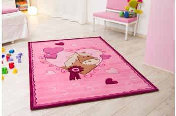 Kelii Kinder-Teppich Pony rosa