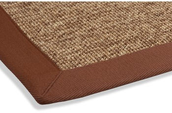 DEKOWE Outdoor-Teppich Rips braun