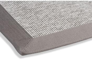 DEKOWE Outdoor-Teppich Rips grau