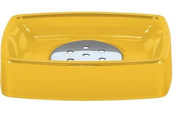 Kleine Wolke Accessoires Seifenschale Easy, Gelb 11,8x 2,8 cm