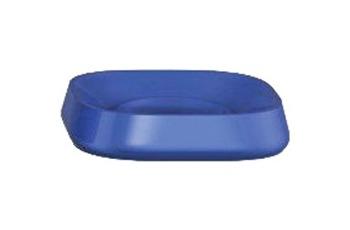 Kleine Wolke Accessoires Seifenschale Trixy, Marineblau 2,5 x 11 cm