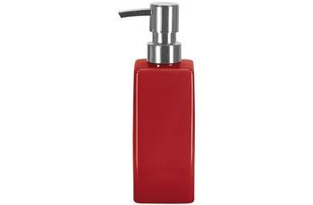 Kleine Wolke Accessoires Seifenspender Flash, Rot 19 x 5,5 cm, Volumen 350 ml