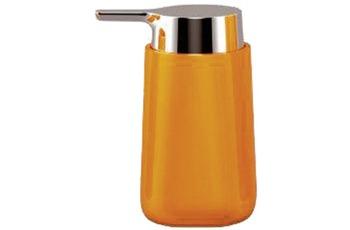 Kleine Wolke Accessoires Seifenspender Trixy, Orange 13 x 7 cm