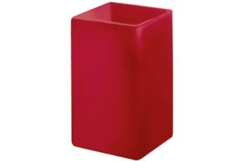 Kleine Wolke Accessoires Zahnputzbecher Flash, Rot 10 x 6,5 cm