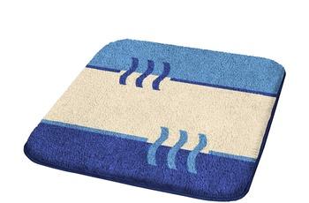 Kleine Wolke Badteppich, Fiesta, Königsblau 60 x 90 cm