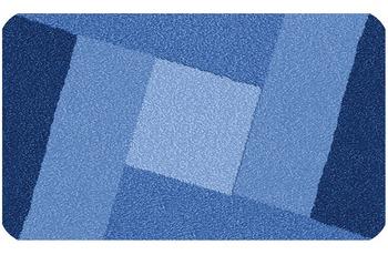 Kleine Wolke Badteppich Indiana, Sor.-Azurblau 80x140 cm