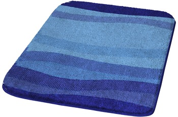 Kleine Wolke Badteppich, Miami, Himmelblau 60 x 90 cm