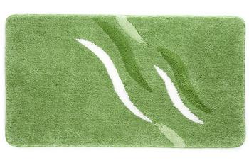 Kleine Wolke Badteppich Shadow Kiwigrün