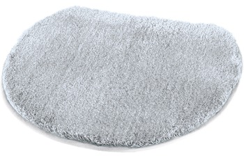 Kleine Wolke Badteppich Soft, Nebel 47 x 50 cm Deckelbezug