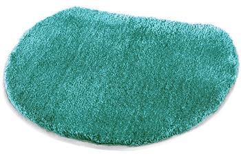 Kleine Wolke Badteppich Soft, Türkis 47 x 50 cm Deckelbezug