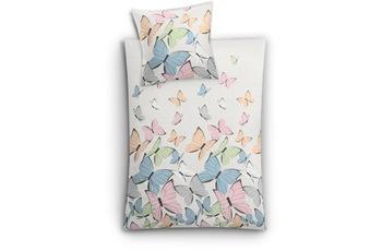 Kleine Wolke Bettwäsche Butterflies, Multicolor