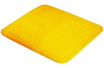 Kleine Wolke Duscheinlage Arosa, Gelb 55x 55 cm