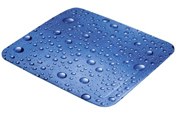 Kleine Wolke Duscheinlage Bubble, Marineblau 55 x 55 cm