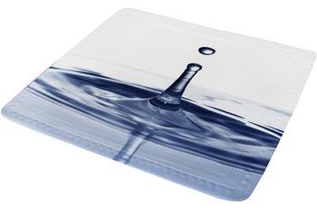 Kleine Wolke Duscheinlage Drop, Marineblau 55 x 55 cm