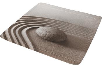 Kleine Wolke Duscheinlage Pebble, Taupe 55 x 55 cm