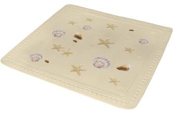 Kleine Wolke Duscheinlage Seashell, Sandbeige 55 x 55 cm