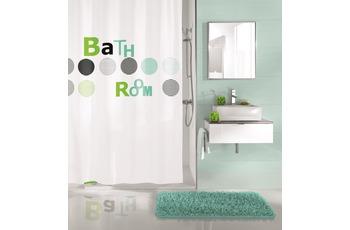 Kleine Wolke Duschvorhang Bathroom, Mint 180x200 cm (Breite x Höhe)