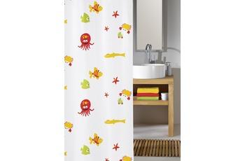 Kleine Wolke Duschvorhang Bounty, Multicolor 180 x 200 cm (Breite x Höhe)