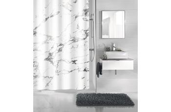Kleine Wolke Duschvorhang Marble, Anthrazit 180 x 200 cm