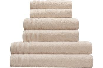 Kleine Wolke Handtuch/ Duschtuch Royal, Beige