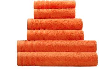 Kleine Wolke Handtuch/ Duschtuch Royal, Orange