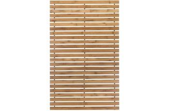 Kleine Wolke Holzmatte Level, Natur 60 x 115 cm