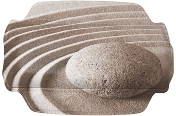 Kleine Wolke Nackenpolster Pebble, Taupe 32x 22 cm
