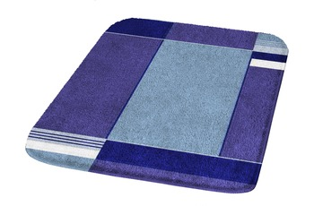 Kleine Wolke Badteppich Padova Marineblau 50 cm x 65 cm