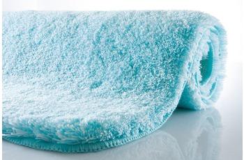 Kleine Wolke Badteppich, Relax, Aqua, rutschhemmender Rücken, Öko-Tex zertifiziert