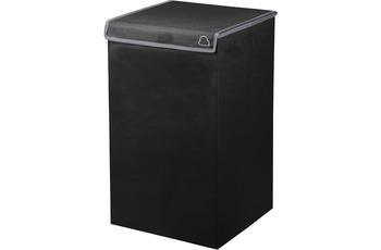 Kleine Wolke Wäschebox Volta, Schwarz Wäschebox 32x54 cm