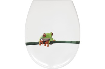 Kleine Wolke WC-Sitz Charlie, Grün 37x 45 cm