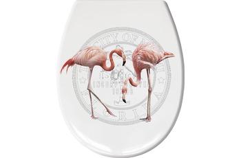 Kleine Wolke WC-Sitz Flamingo, Koralle 37x 45 cm
