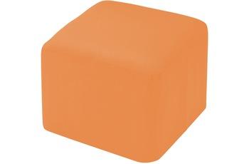linke licardo Möbelhocker, eckig Alka light-orange 50/ 50/ 40 cm