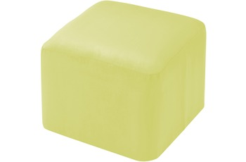linke licardo Möbelhocker, eckig Alka limone 50/ 50/ 40 cm