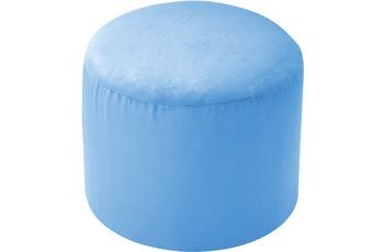 linke licardo Möbelhocker, rund Alka light-blue Ø 50 cm