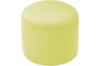 linke licardo Möbelhocker, rund Alka limone Ø 50 cm