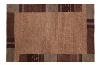 Luxor Living Gabbeh-Teppich Rio Grande grau/ braun