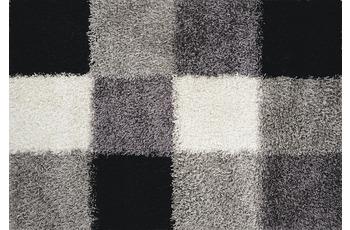 Luxor Living Teppich Faenza Karo schwarz-weiß